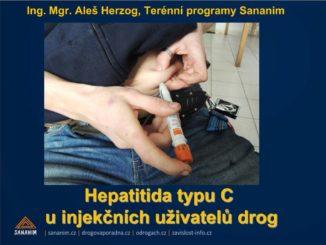 Prezentace Aleše Herzoga na téma Léčba hepatitidy typu C u IUD z AT konference 2013