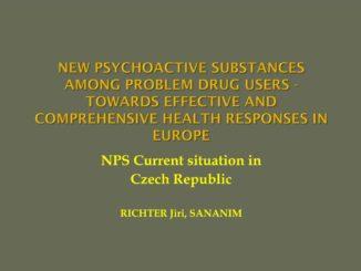 Nové syntetické drogy - prezentace Jiřího Richtera na konferenci v Portugalsku 2014