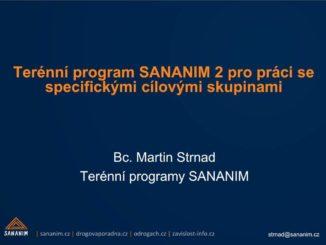 Prezentace Bc. Martina Strnada na semináři o problematice drogových závislostí v sociálně vyloučených lokalitách ve Frýdku Místku 2014