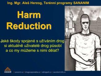 Prezentace Aleše Herzoga ze semináře REMEDIS - Harm reduction: Jaké škody si uživatelé drog působí a co s nimi můžeme dělat. Říjen 2016